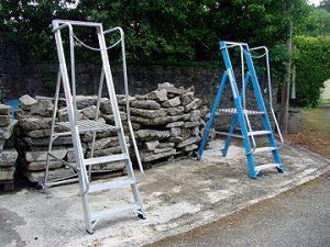 Aluminium and Fibreglass Wide Step 4 Tread