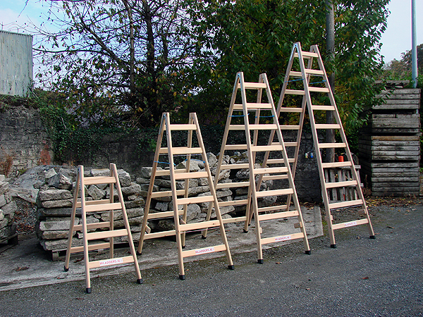 Timber Step Ladders A Frame