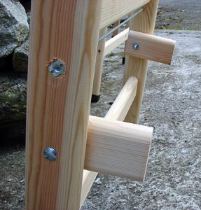 Timber Step Ladders A Frame Locating Lug