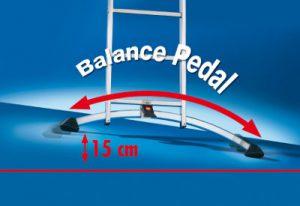 Combination Professional Ladders Balance Pedal