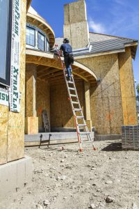 Little Giant Classic as Extension Ladder