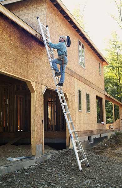 Werner-MT Series as extension ladder