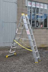 Combination Reform Ladder 3x8-A frame