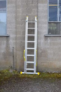 Combination Reform Ladder 3x8 closed
