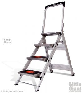 Little Giant Safety 4 step