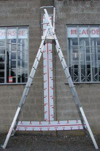 Height Adjustable Podium in Aluminum