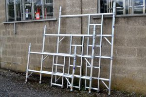 Industrial Tower Ladder Frame Double Width