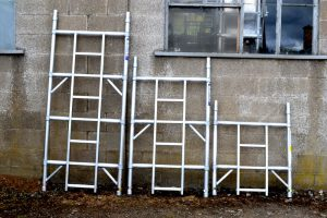 Industrial Tower Ladder Frame Single Width