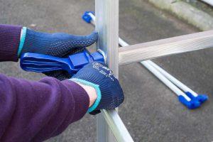 DIY Tower brace lock