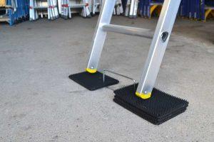 Ladder Mat usage on uneven surface