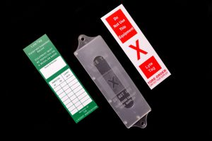 Safety Tag Insert and Holder