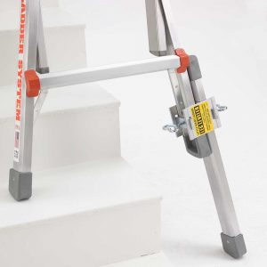 Little Giant ladder leg leveler usage