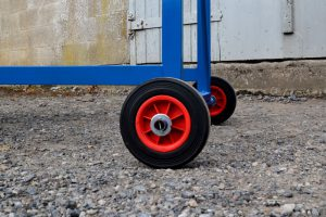 Mobile Safety Steps - Back Wheels