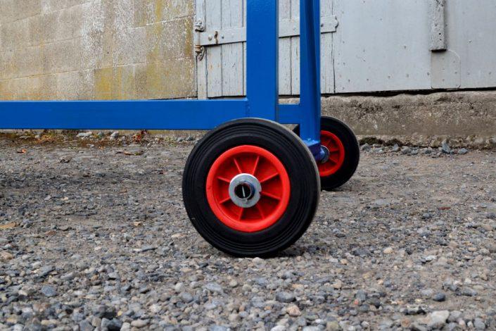 Mobile Safety Steps - Back Wheels