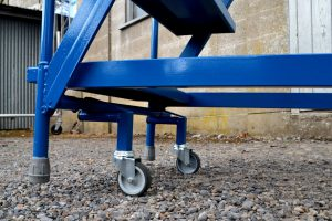 Mobile Safety Steps - Front Wheels