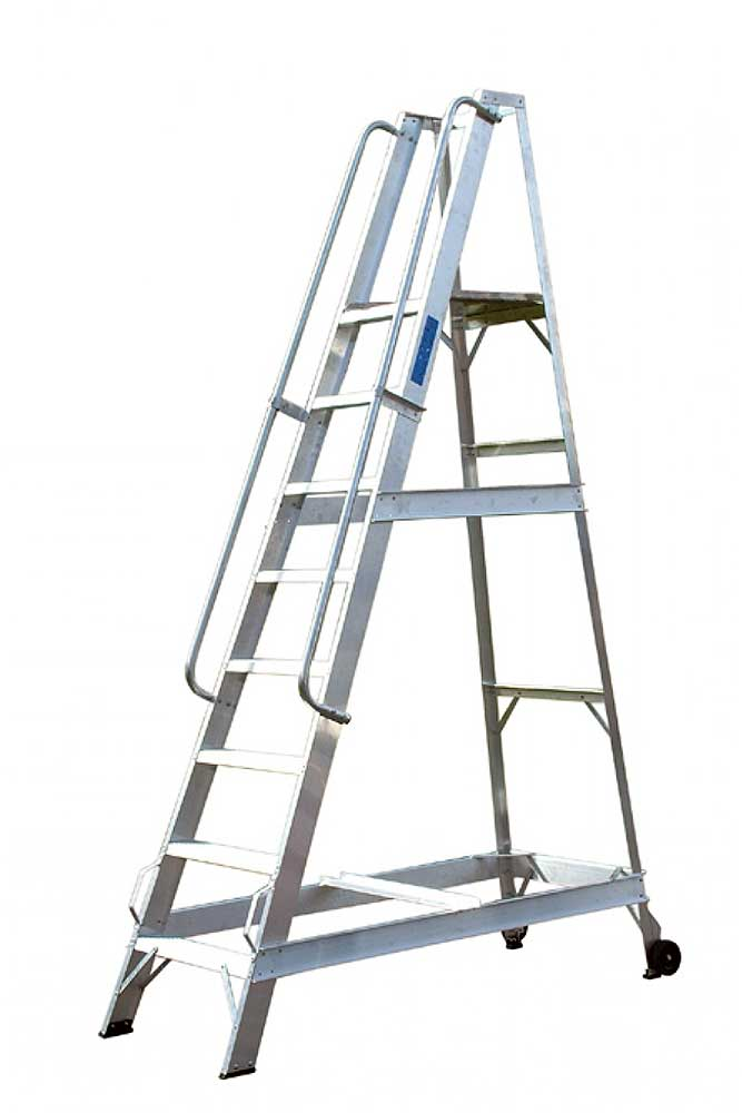 Fixed Warehouse Step Ladders Ie