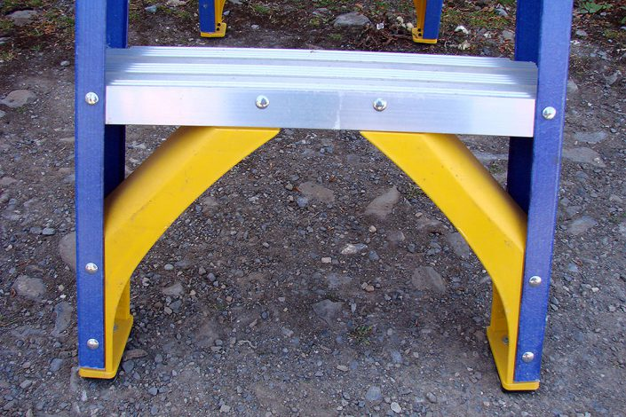Fibreglass Swingback Stepladders Leg Support