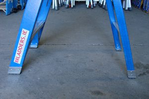 Trade Blue Swingback Ladder Stile Protectors