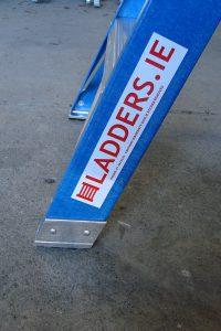 Trade Blue Swingback Ladder Stile Protectors detail