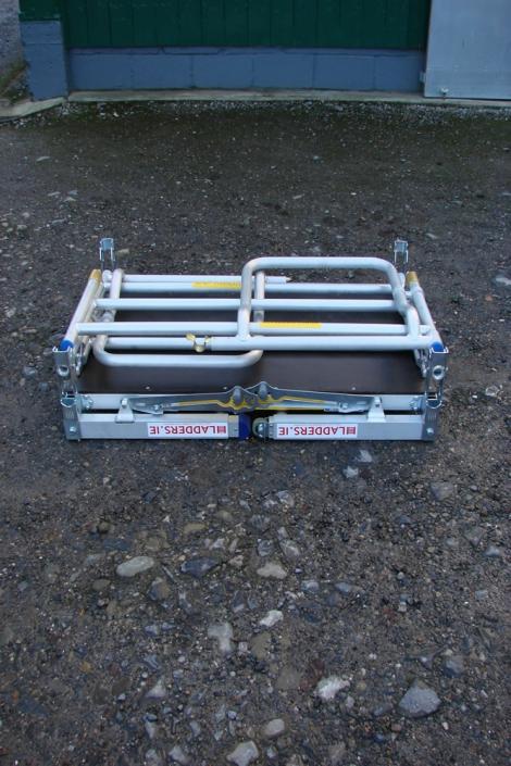 Low Level Work Platform folded