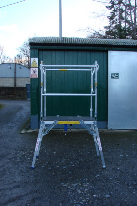 Low Level Work Platform - height 1
