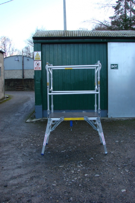 Low Level Work Platform - height 2