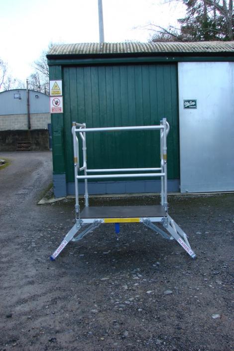 Low Level Work Platform - height 4
