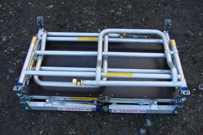 Low Level Work Platform folded detail