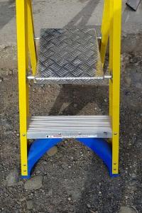 Trade Yellow Platform Stepladder - feet