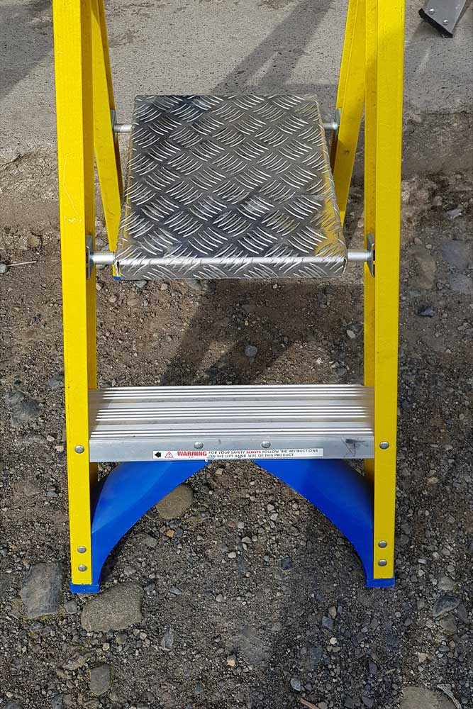 Trade Yellow Platform Stepladder - feet